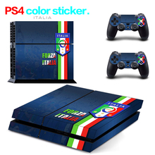 Hot Sale FC56 for PS4 Skin 1 Set Body Skins For Play station 4 Sticker Decal Cover + 2 Controller Sticker ps4 accessories