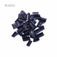 1000 pcs Keratin glue for hair Nail Tip Keratin U Shaped Chips Glue Nail Tip Keratin Nail Tip for hair extension