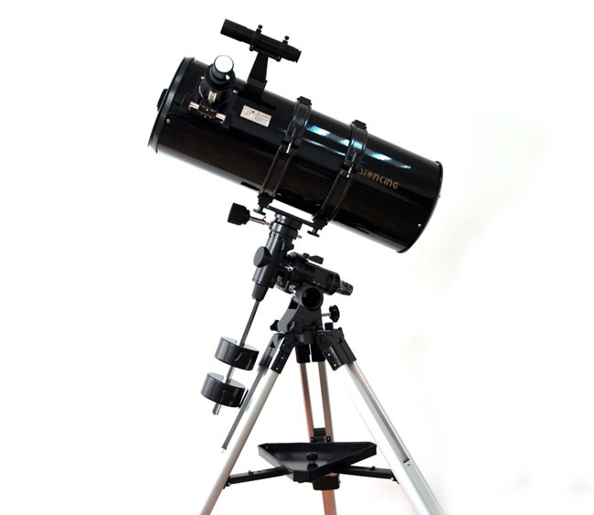 Visionking 203 mm 8 inches Equatorial Mount Space 203-800mm Astronomical Telescope Sky Watching Exploring Astronomy Telescope entry level 3 inches 76 700mm reflector newtonian astronomical telescope black white