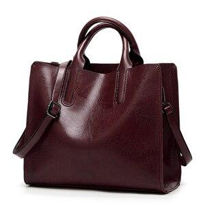 Image 1 - กระเป๋าผู้หญิง 2019 กระเป๋าถือผู้หญิง Messenger กระเป๋าหนังนุ่มกระเป๋าสะพายขายร้อน Crossbody กระเป๋า LSH411
