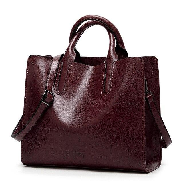 กระเป๋าผู้หญิง 2019 กระเป๋าถือผู้หญิง Messenger กระเป๋าหนังนุ่มกระเป๋าสะพายขายร้อน Crossbody กระเป๋า LSH411