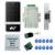 Conjunto completo de plata táctil C60 de metal control de acceso + electric huelga lock + power + botón de salida + 10 unids mandos + control remoto