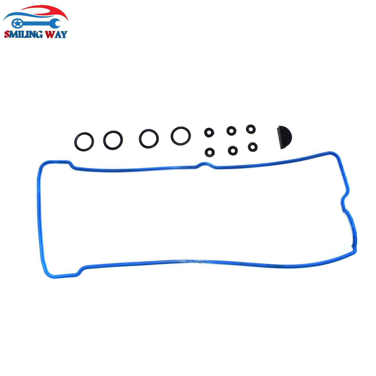 small resolution of  smiling way engine valve cover gasket grommet spark plug tube seal for chevrolet