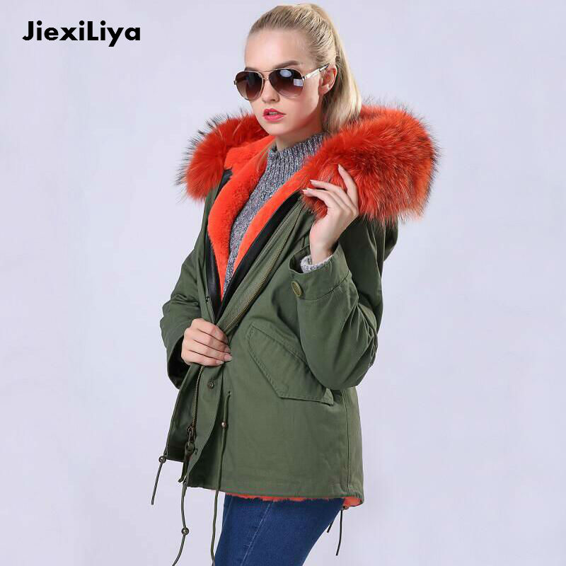 Подробнее о New Fashion Parkas For Girls Winter 2016 Army Green Large Real Raccoon Fur Collar Hooded Outwear Short Jacket Thick warm Coats winter jacket men coats thick warm casual fur collar winter windproof hooded outwear men outwear parkas brand new