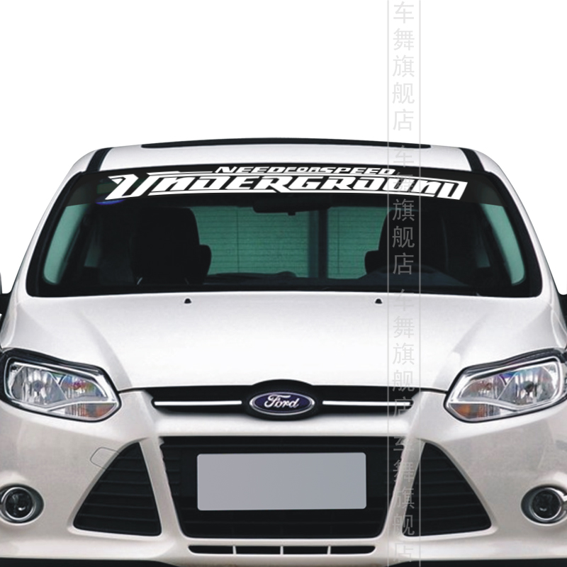 Car Styling NEED FOR SPEED Windshield Sticker Personalized - Front window stickers for car