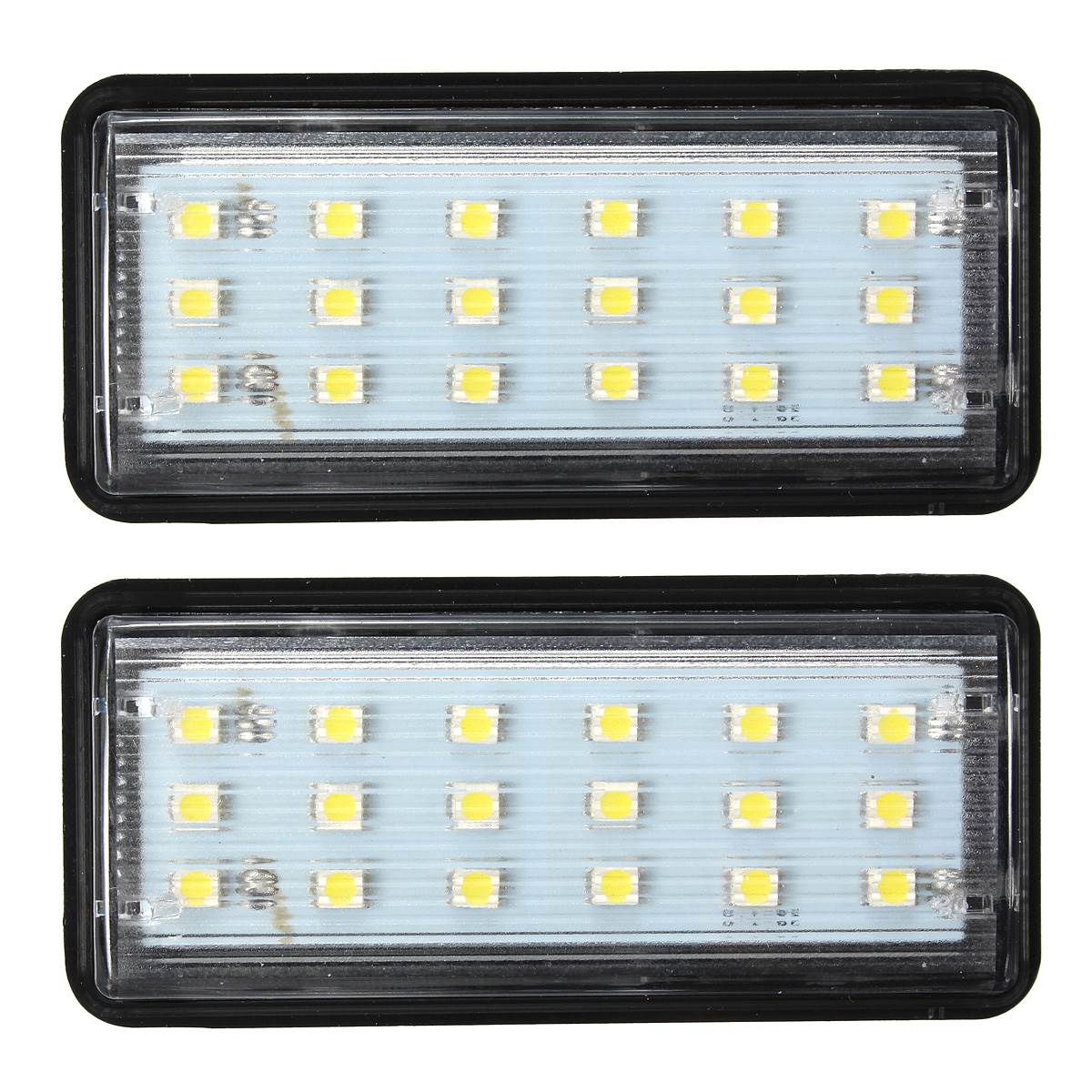 2x LED SMD3528 License Plate Light Number Plate Lamp For Toyota/Land/Cruiser/Lexus/GX/LX470 Error Free 2pcs error free led smd license plate light for toyota land cruiser lexus gx lx470 new dropping shipping