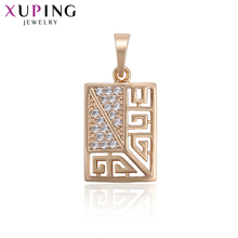 Xuping Fashion Classic Religion Exquisite Pendant Gold Color Plated for Women Valentine's Jewelry Gift S120,7-33717