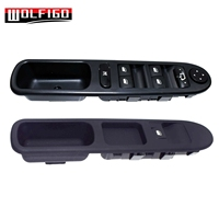 WOLFIGO Set 2pcs 6554.KT, 96351625XT Power Window Control Switch Electric Button For Peugeot 307 307SW 307CC New