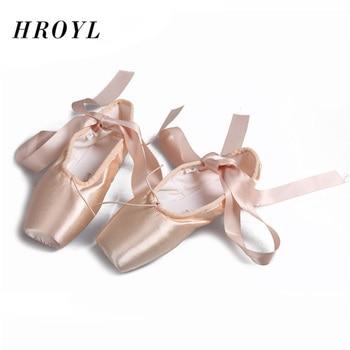 699dec96c031 Новое поступление; балетки с острым носком; балетная Профессиональная Обувь  для ...