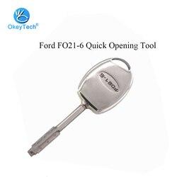 OkeyTech for Ford FO21-6 szybkie otwieranie kluczowe narzędzie samochodowe do narzędzi ślusarskich zdalnie sterowany klucz do usuwania Pin narzędzie do demontażu