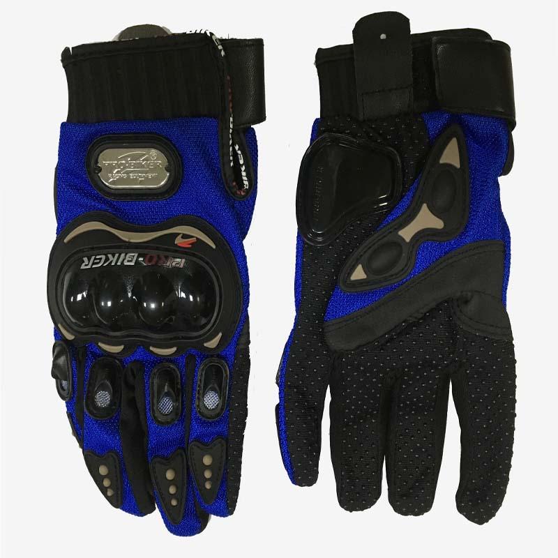 PRO-BIKER Motorcycle Full Finger Gloves Offroad Racing Motocross Dirt Bike Riding Ski Scooter Cross Protective Gloves MCS-01B