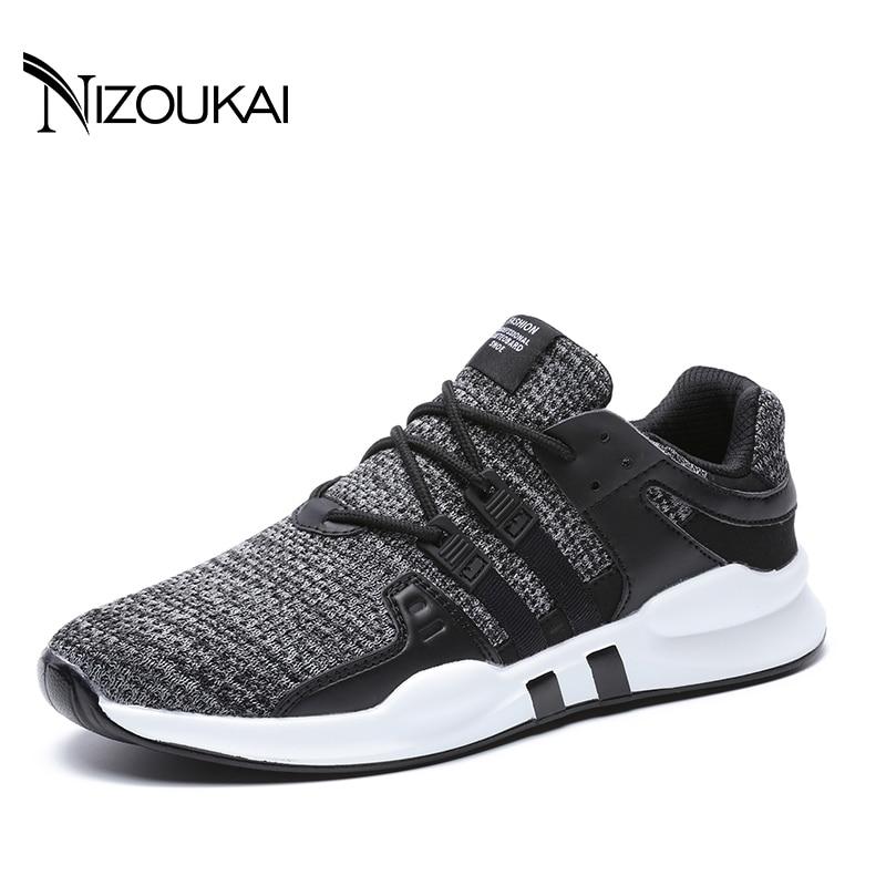 Новый Для мужчин повседневная обувь Обувь с дышащей сеткой Мужская обувь Легкие мужские туфли на плоской подошве Для мужчин Дизайнерские кроссовки мужской Обувь взрослых Плюс size45 46