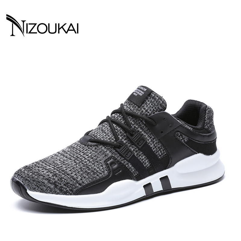 New Men Casual Shoes Breathable Mesh Men Shoes Lightweight Men Flats Shoes Men Designer Trainers Male Shoes adult Plus Size45 46 2017 new arrival spring men casual shoes mens trainers breathable mesh shoes male hombre hip hop street shoes high quality