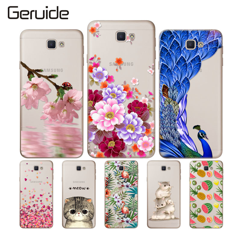 Geruide For Samsung Galaxy A5 2017 A520 SM A520F A5200 5 2 quot Case Soft Silicon Cover Case For Samsung A5 2017 Phone Cases in Phone Bumpers from Cellphones amp Telecommunications