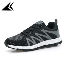 Outdoor Air Mesh Cushioning Lace-up Running Shoes breathable Athletic Sneakers Free Shipping