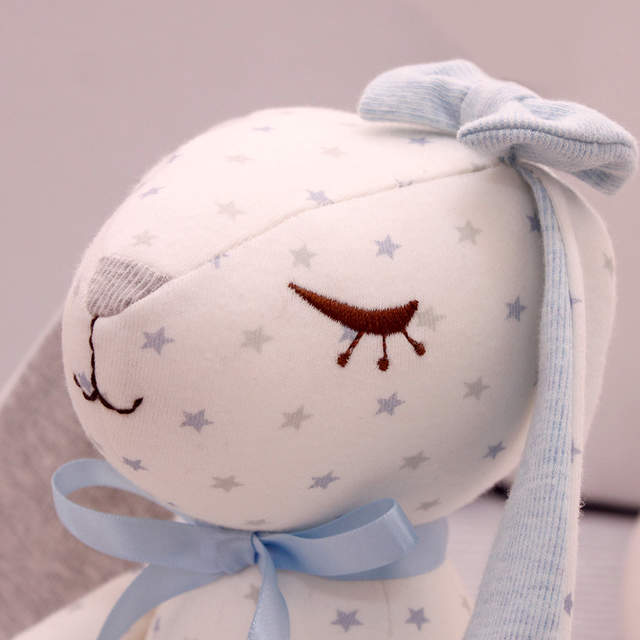 393340ba3a0 placeholder SHILOH Baby Infant Sleeping Hug Doll Stuffed Bunny Dolls Plush  Rabbit Toys Pure Cotton Long-