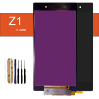 szHAIyu 5pcs Tested Well Working LCD Display+Touch Screen For Sony Xperia Z1 L39 L39H C6902 C6903 LCD Display With Tools