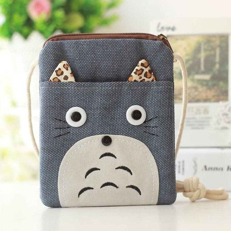 Oloey 2019 Neue Mini Totoro Schulter Taschen Für Kinder Kinder Nette Mädchen Cartoon Junge Crossbody-tasche Geldbörse Brieftasche