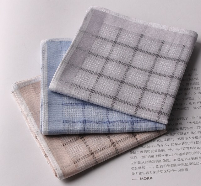 100% cotton handkerchief 100% cotton handkerchief male handkerchief