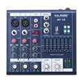 Горячие Мини Audio Mixer Консоли DJ с USB встроенный эффект процессор Звуковой Микшер 4 каналов звуковой микшер консоли 48 В питания