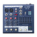 Hot Mini Audio Mixer Console DJ with USB Built in effect processor Audio Mixer 4 channel mixer sound console 48v power supply