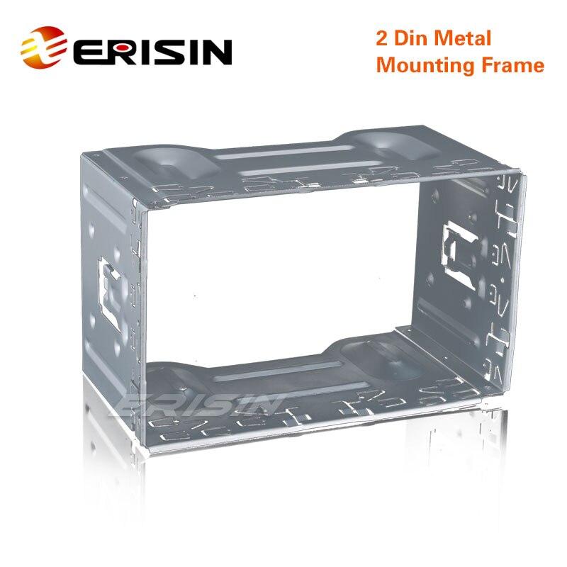Erisin ES200 Universial 2 Din Car DVD Metal Mounting Frame