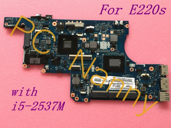 For Lenovo Thinkpad Edge E220S i5-2537M System Motherboard Intel HD 3000 - 04W6559 PIVP1 LA-7041P