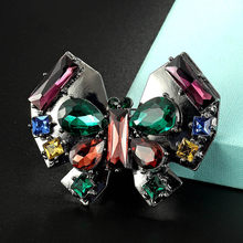 Zlxgirl ยี่ห้อ Rhinestone Butterfly (China)