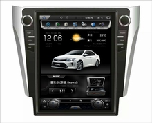"LaiQi 12.1"" Quadcore Car DVD player 1024x768 Car Vertical Screen 32GB ROM Stereo GPS Navigation for Toyota Camry 2012-2015"