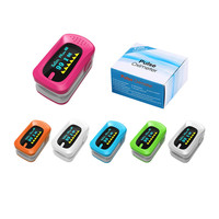Medical Equipment Digital Finger Pulse Oximeter Heartrate Monitor Portable OLED Fingertip Blood Oxygen Monitor