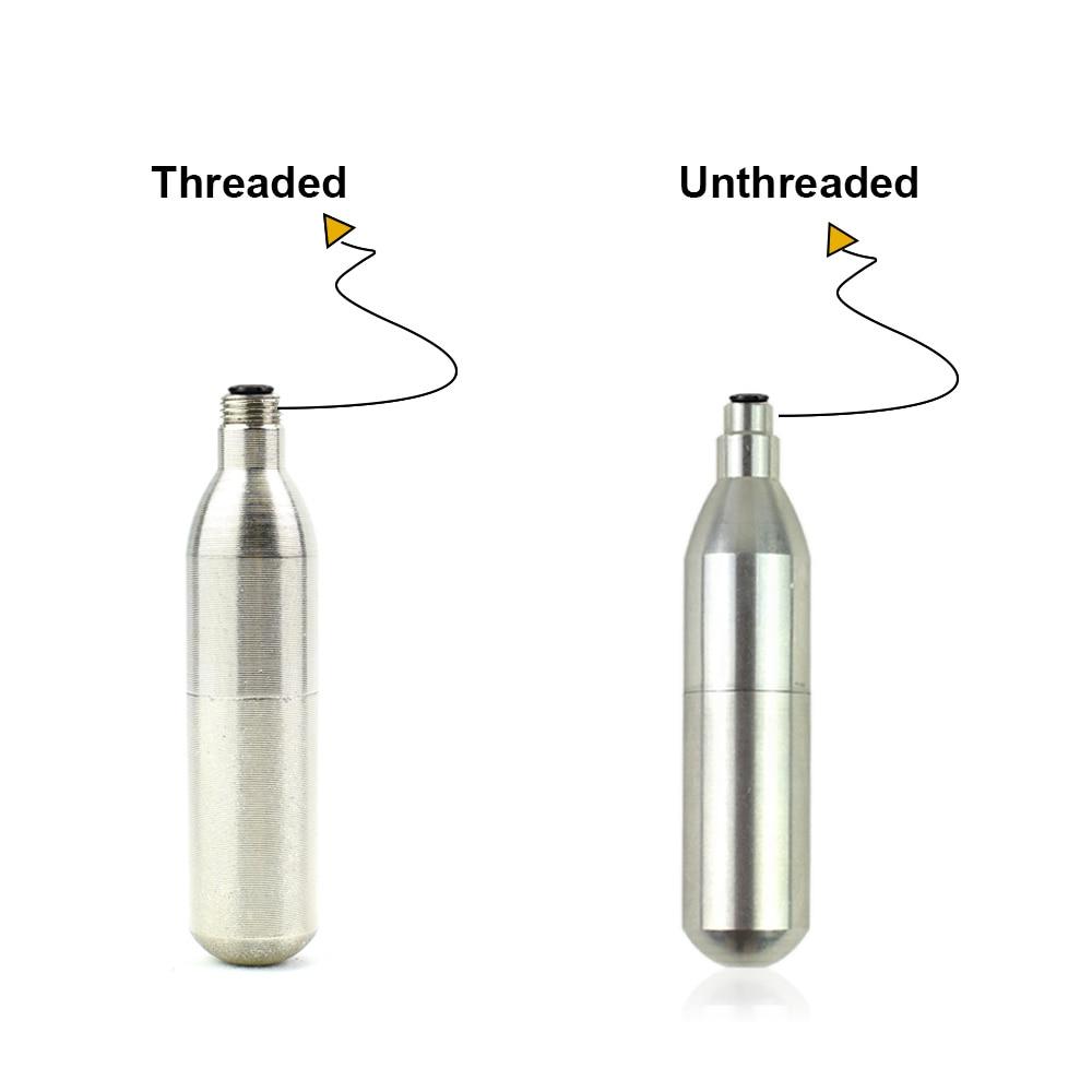 10 x CO2 CARTRIDGES 12g Threaded 12 gram cylinder gas bottle refill canister