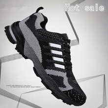2016 running shoes flywire high quality sneakers for men BIG SIZE  men&women Breathable mesh sports shoes couples Athletic shoes