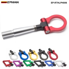 EPMAN Racing CNC Заготовка алюминиевая передняя/задняя япония автомобиль буксировочное кольцо крюк комплект для Mitsubishi Lancer EVO EP-RTHLPH006