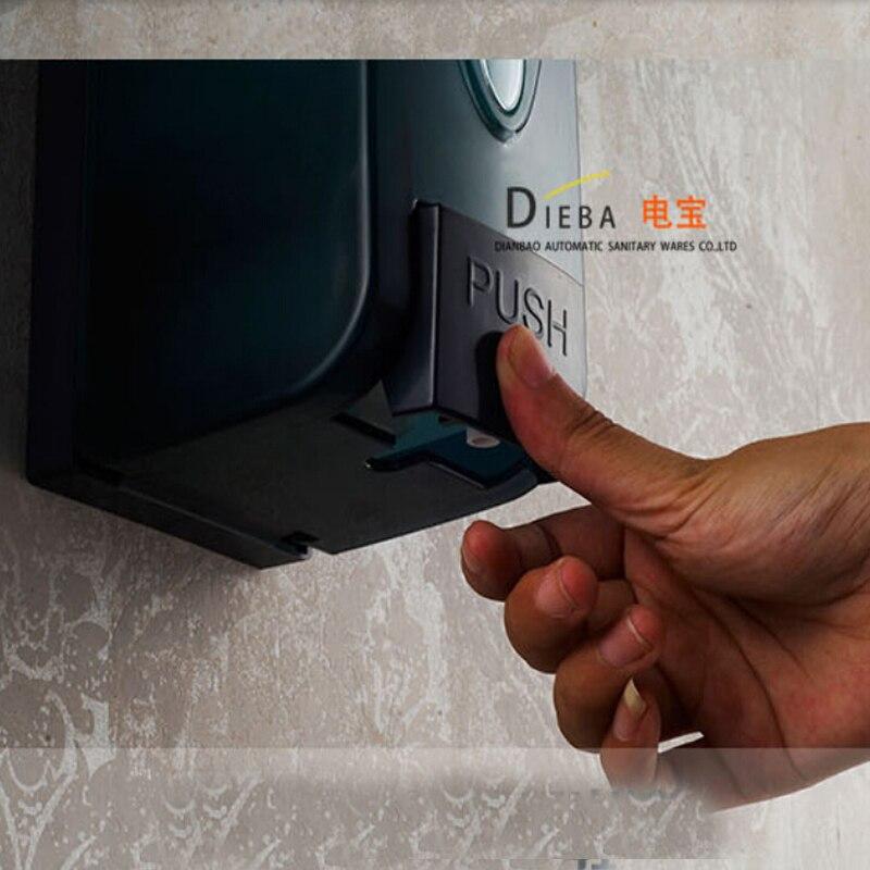 Moderne blauw kleur badkamer zeepdispenser vloeibare douche shampoo dispenser 1000 ml wandmontage keuken zeepdispenser.jpg