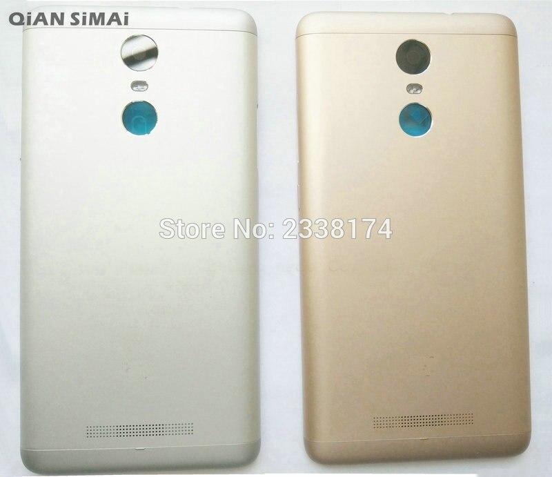 QiAN SiMAi For xiaomi hongmi note3 redmi note 3 New Rear back Cover door battery cover housing Repair Parts + Free shipping