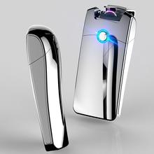 New Arc Pulse Ligther Metal USB Charging Windproof Lighters Flameless Electronic Cigarette Lighters Gadgets for Men Encendedor