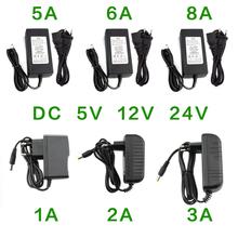 Power Supply DC 5V 12V 24V 1A 2A 3A 5A 6A 8A Power Supply Adapter DC 5 12 24 V Volt Power Supply Adapter Lighting Led Strip Lamp cheap ZUCZUG CN(Origin) 5 5mm*2 5mm Switching Plug In Lighting Transformers Power Adapter 5V 12V 24V 1A 2A 3A 5A 6A 8A 5 V 12 V 24 V 1A 2A 3A 5A 6A 8A Power Adapter