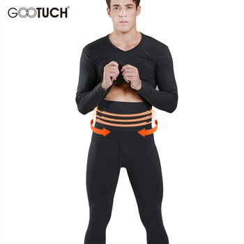 Mens Long Johns Set Winter Warm Thermal Underwear Men High Waist Thermo Male Plus Size 5231A