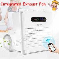 Интегрированный Вытяжной вентилятор Интеллектуальные удаленные Управление Сильный всасывания и низкая Шум Кухня и Ванная комната Air возду