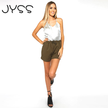 JYSS Summer New arrival Sexy top crop Camis for Women Fashion Shiny Snowflakes pile loose comfortable backless Tank Tops 80757