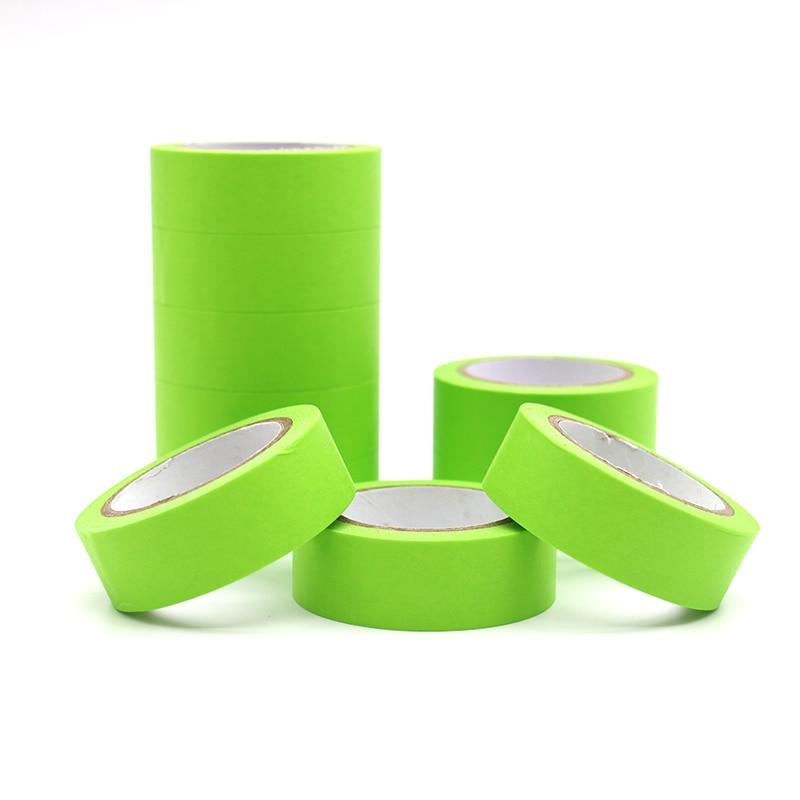 10m*15mm Refreshing Kawaii Candy Green Color Washi Tape Pattern Masking Tape Decorative Scrapbooking DIY Office Adhesive Tape