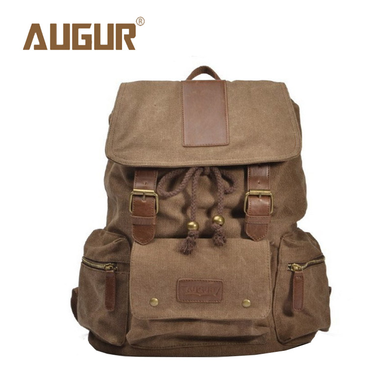 AUGUR Brand New Fashion Backpack Men's Women School Bags Canvas Bag Women Men Shoulder Bag Designer Backpacks HT100576 2016 new sports men and women backpacks fashion men s backpack unsix men shoulder bag brand design ladies school backpack