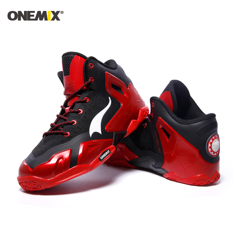 ONEMIX 2017 basketball shoes for men waterproof mens sport shoes  Autumn and winter style shoes man onemix men