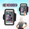 Nylon Sport Armband for running smartphone Case Waterproof 5.5 inch Phone Bag with Armband for iPhone 5S/6/6 Plus Samsung S4/S5