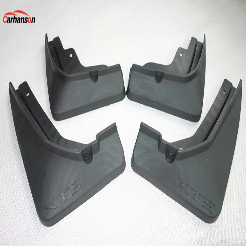 Car Styling For cadillac xt5 Accessories Mud Flaps Splash Guards Mud Guards Mudguards Fenders With Screws