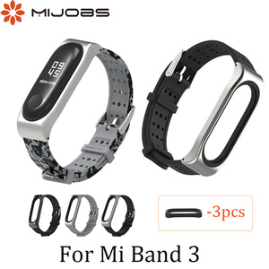 Image 5 - For Xiaomi Mi Band 3 Bracelet Strap Miband 3 Sports wristband Replacement strap For original Xiaomi Mi Band 3 Youth Strap