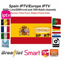 Android box Spain IPTV for 1 Year m3u MAG Android box Spain Portugal Arabic Dutch IPTV Subscription France UK iptvsmart h96max