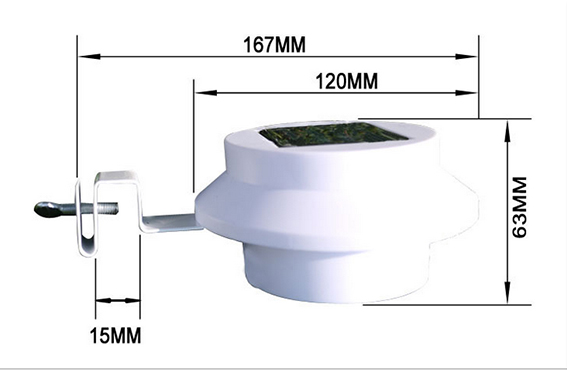 buy luminaria lampara solar de led para valla en el jardin y patio encendido automatico exterior con bateria recargable from reliable