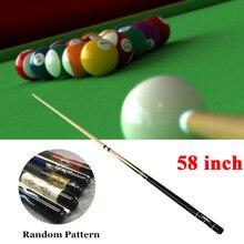 """Кий для бассейна 5"""" бильярдный дом бар бильярдные кий палочки(тип 1 или тип 2, случайный узор и цвет"""