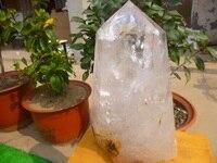 14300g 31 46 Lb Natural Quartz Crystal Point Healing China DPD001